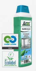 B1-017 GREEN CARE GLASS CLEANER 1L