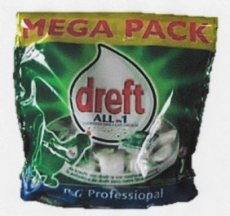 B3-022 DREFT ALL-IN 1 TABS 100TABS